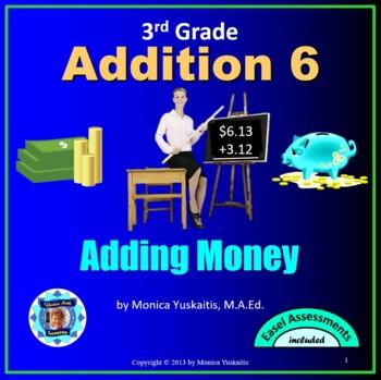 Common Core 3rd - Addition 6 - Adding Money