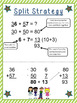 Addition AND Subtraction Strategies- no algorithm {Common Core Aligned}