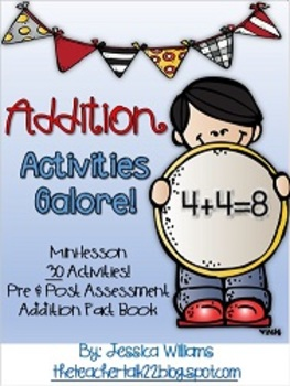 Addition Activies {30+ Activities & Mini-Lesson}