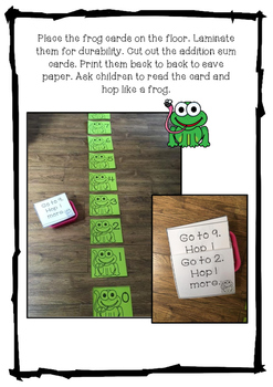 Addition Activities(Frog Themed)