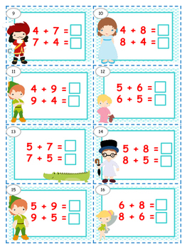 Addition Activities & Games with Number Sense Strategies
