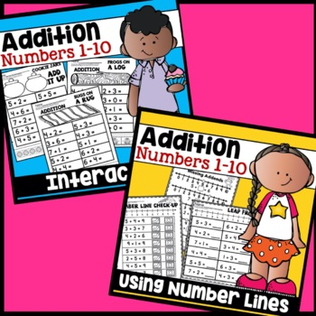 Addition Activities Worksheets Adding Practice
