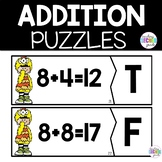 Addition Activities for First Grade