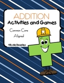 """Addition Activities with """"Gus the Plus"""""""