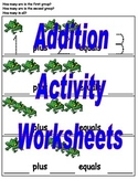 Addition Activity Worksheets