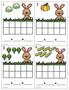 Kindergarten - 1st grade- Special Ed.-Addition-Add 10 Combinations