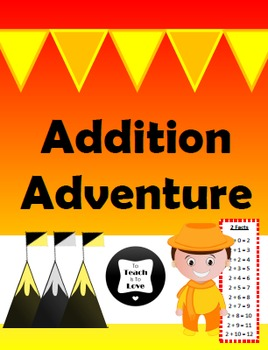 Addition Adventure Bulletin Board Race