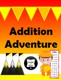 Addition Adventure Bulletin Board Race