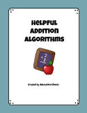 Addition Algorithms