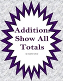 Addition: All Totals Method