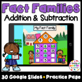 Addition And Subtraction Fact Family Strategy Activities For GOOGLE CLASSROOM