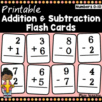 It is a graphic of Free Printable Addition Flash Cards inside clip art