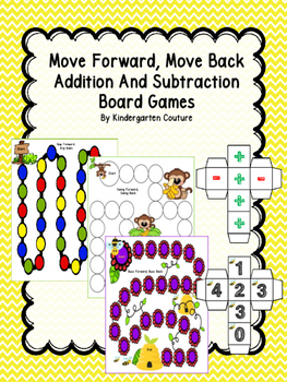 Addition And Subtraction Move Forward, Move Back