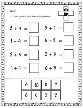 Addition And Subtraction Printables