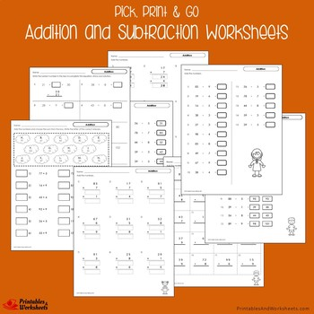 Addition And Subtraction Review Packet