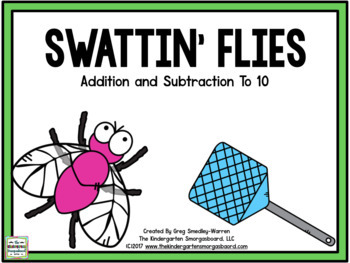 Addition And Subtraction:  Swattin' Flies!