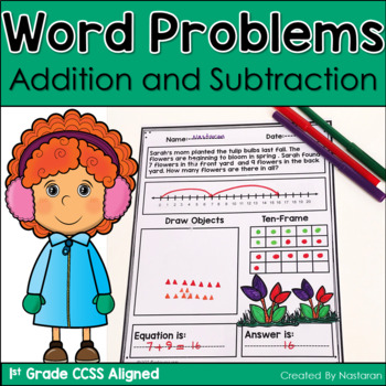 Addition And Subtraction Word Problem-Bundle