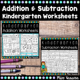 Addition And Subtraction Worksheets for Numbers 0-10