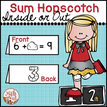 "Sum Hopscotch ""Missing Addend Activity"""