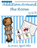 Addition Around the Room Fairy Tales Set 3