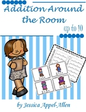 Addition Around the Room Fairy Tales set 2