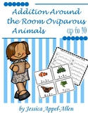 Addition Around the Room Oviparous Animals