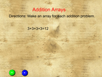 Addition Arrays