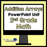 Addition Arrays Math Unit 2nd Grade Common Core