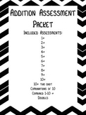 Addition Assessment Packet