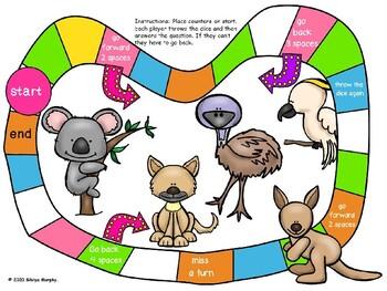 Addition Aussie animals game