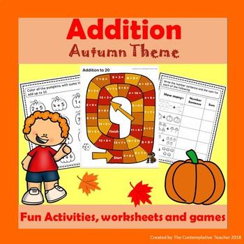 Addition Autumn Theme