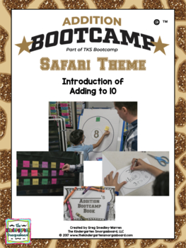 Addition BOOTCAMP!  Addition To 10:  Safari Theme