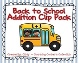Addition ~ Back to School Theme