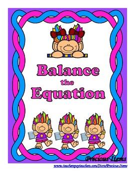 Addition Balance the Equation Trolls