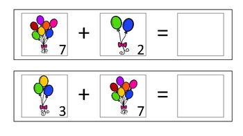 Addition Balloons