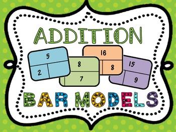 Addition Bar Models
