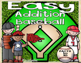 Addition Baseball (Facts to 10)