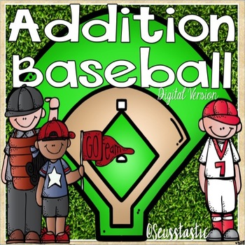 Addition Baseball (Facts to 20)
