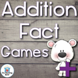 Addition Fact Games and Flash Cards