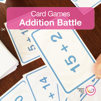 Addition Battle Card Game