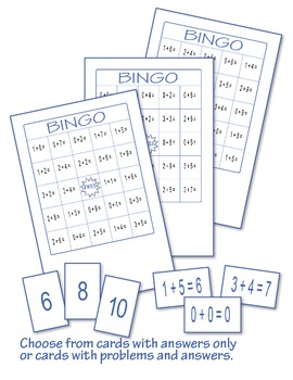 Addition Bingo 1