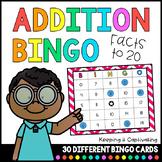 Addition Bingo {Facts to 20}