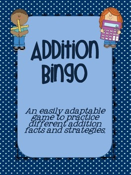 Addition Bingo