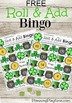 St. Patrick's Day - Roll and Add Bingo
