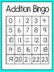 Addition Bingo (30 completely different cards & calling ca