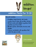 Addition Bingo Boards 5-20