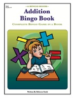Addition Bingo Book