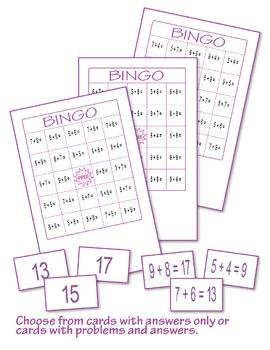 Addition Bingo  ♥BUNDLE♥