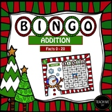 Addition Bingo- Christmas / Winter Edition