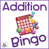 Addition Basic Facts Bingo Game